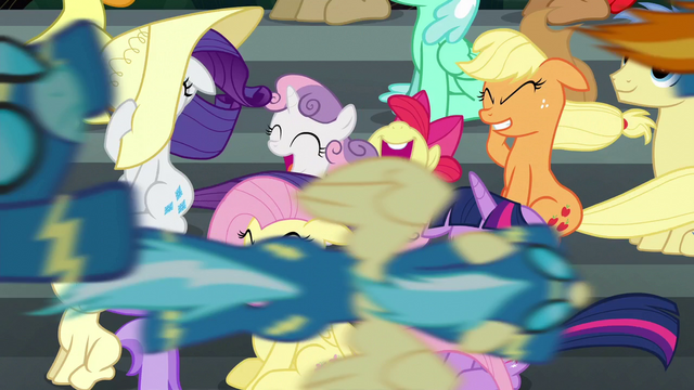File:The Wonderbolts fly past the crowd S6E7.png