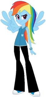 FANMADE Rainbow Dash WWU