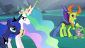 Princess Luna supporting the weak Celestia S6E26.png