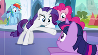 "Rarity ""you are a princess now"" EG"
