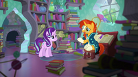 "Sunburst ""Princess Twilight is keen on the two of us rekindling our friendship"" S6E2"