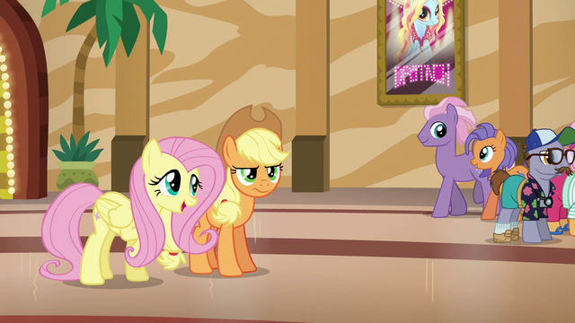 File:Fluttershy suggests helping Flim and Flam S6E20.png