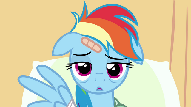 File:Rainbow Dash extremely bored in hospital S02E16.png