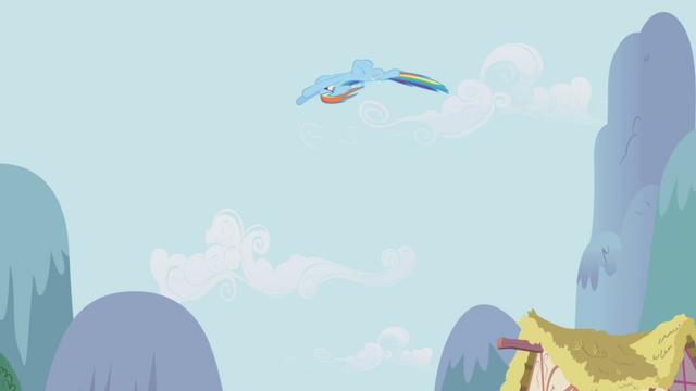 File:Rainbow Dash looping through the air S1E05.png
