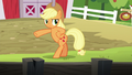 Applejack finishes the chicken dance S6E10.png