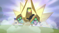 Giant bronze capsule opens up to reveal Countess Coloratura S5E24.png