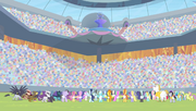 All Equestria Games participants back S04E24.png