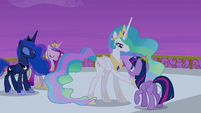 "Princess Celestia ""your time will come"" S4E25"
