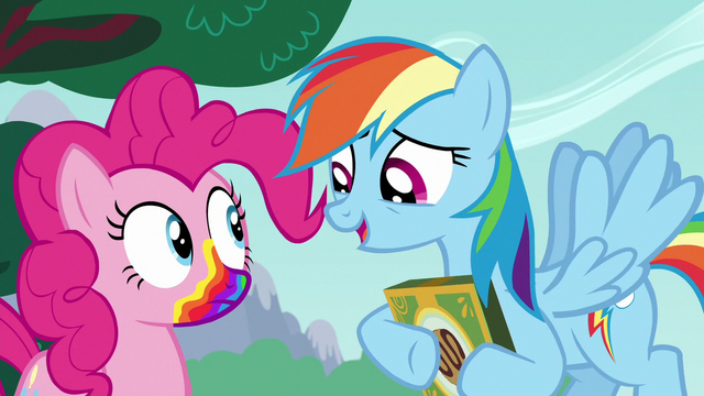 "File:Rainbow Dash ""gonna get a rainbow mouth"" S6E15.png"