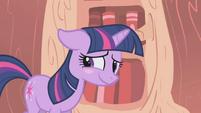 Twilight Sparkle Blush S1E6