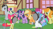 Apple Bloom fencing S2E6