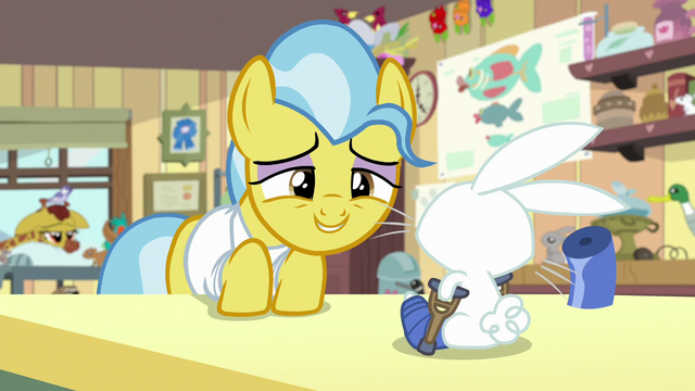File:Dr. Fauna offers carrot pop to Angel Bunny S7E5.png
