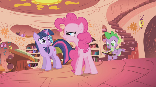 File:Pinkie Pie doesn't like Gilda S1E05.png