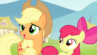 Applejack teaching honesty lesson S4E20