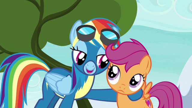 "File:Rainbow Dash ""I just need a small favor"" S6E7.png"