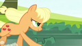 Applejack Getting Ready to Jump S2E14.png