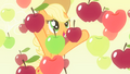 Applejack surrounded by the apples S4E07.png