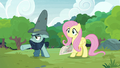 Big Daddy McColt gesturing toward the ponies S7E5.png