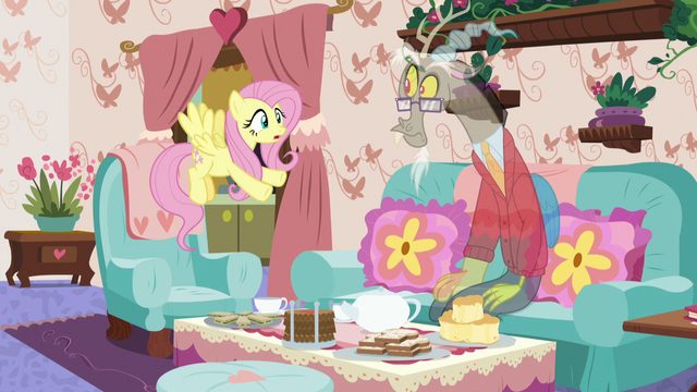 """File:Fluttershy """"being normal is destroying you!"""" S7E12.png"""