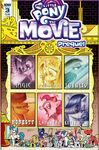 MLP The Movie Prequel issue 3 cover A