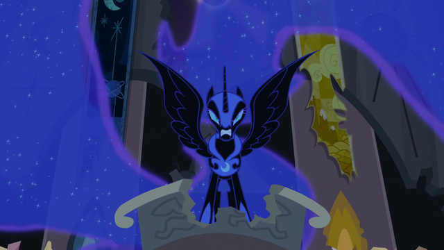 File:Nightmare Moon glaring at Twilight S4E02.png