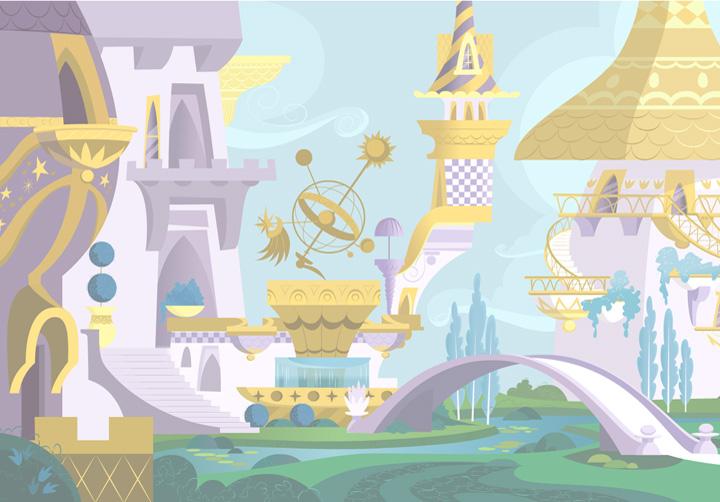 Image result for canterlot castle