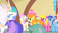 Celestia exits the brunch S01E22.png