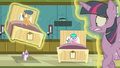 Flurry Heart levitates First Base's hospital bed again S7E3.png