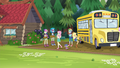 Fluttershy admiring the campground EG4.png