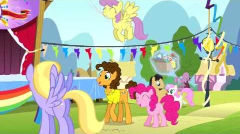 Spanish My Little Pony Pinkie The Party Planner Song - Reprise HD