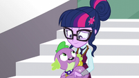 Twilight and Spike smiling contently EG3