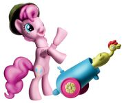 Guardians of Harmony Pinkie Pie figure and party cannon