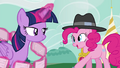 """Pinkie Pie """"they cannot help our good friend Rainbow Dash!"""" S4E21.png"""