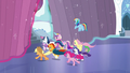 Ponies run off outside S6E2.png