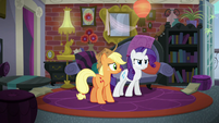 Rarity thinks the map should've sent Twilight S5E16