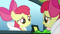 Apple Bloom 'This is my first time meeting her' S3E4