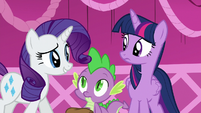 """Rarity """"Oh, sorry, darling"""" S5E22"""