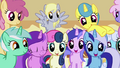 A group of very happy background ponies.png