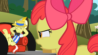 Apple Bloom not happy with Flim S2E15