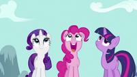 Pinkie Pie Saying Rainbow Dash S2E16