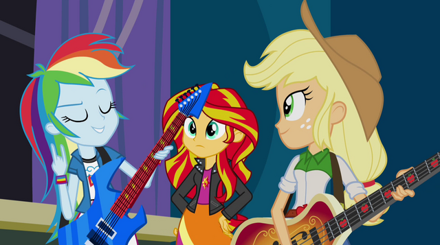 "File:Rainbow Dash ""let's get ready to rock!"" EG2.png"