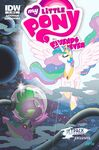 MLP Friends Forever Issue 3 Jetpack Cover B