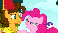 "Pinkie Pie ""are you in, Cheese?"" S4E12"