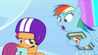 "Rainbow ""this could rock you to your very core"" S7E7"