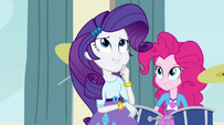"Rarity ""something that looks good in a longer ponytail"" EG2"