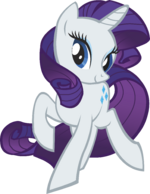 Canterlot Castle Rarity 1