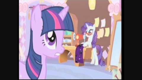 My little pony l'amicizia è magica - canzone l'arte del buon cucir