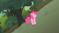 Pinkie Pie shaking as she trots S1E15