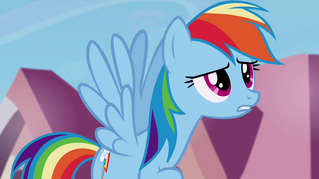 """File:Rainbow Dash """"only mentioned it about fifteen times"""" S4E25.png"""
