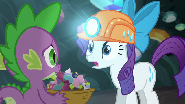 """File:Rarity """"I woke them and ended up"""" S6E5.png"""